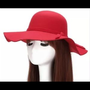 Red Vintage Sunhat